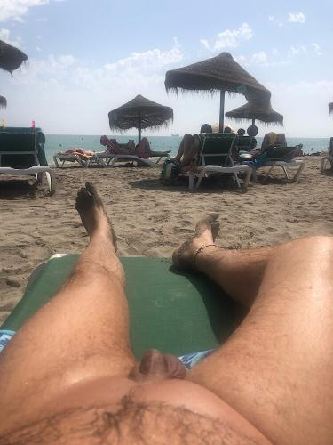 View from the lounger